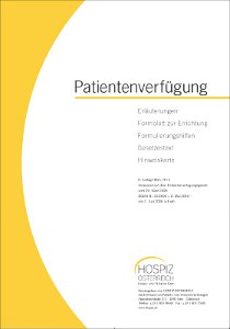 patientenverfgung - Patientenverfugung Muster
