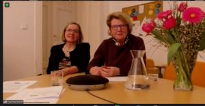 Leena Pelttari und Waltraud Klasnic